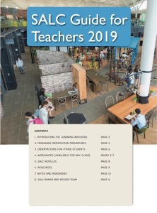 cover SALC information for teachers 2019